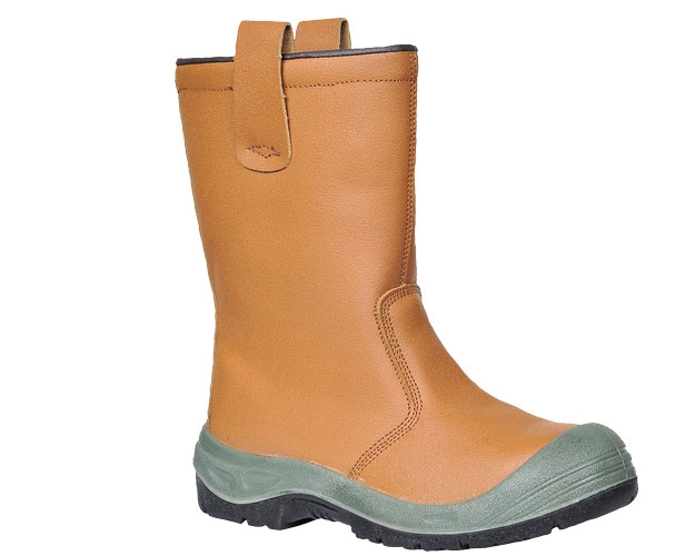 Mens Wide Fitting Rigger Safety Work Boots