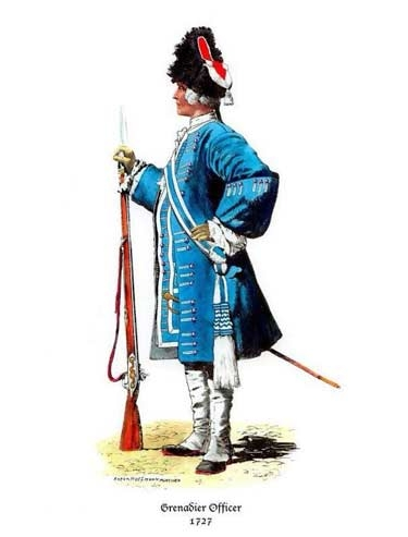 18th cent uniform